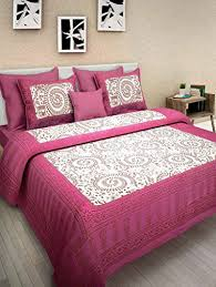 Bed Comfort Bed Sheet Cotton Double Bed Offer 100 Cotton Comfort Rajasthani