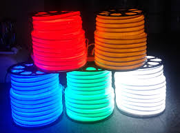 copper line led neon rope light ip65 outdoor led light