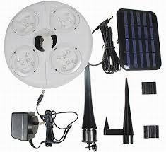 solar powered umbrella lights eco gadgets solar powered led patio umbrella light ecofriend