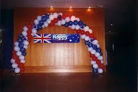 australia day balloon decorations flim flams shop gold coast