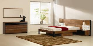 Modern Bedroom Collections Modern Bedroom Set Rondo Walnut Zebrano