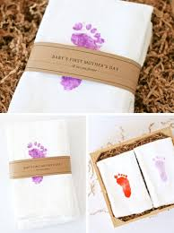 s day gift ideas from baby baby s s day gift idea footprints towels and teas