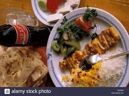 cuisine iranienne mashhad contemporary cuisine stock photo