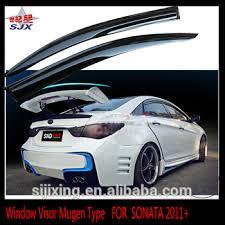 hyundai sonata 2011 accessories window visor for sonata 2011 white export foreign car door visors