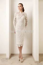 white lace dress with sleeves knee length sleeve knee length white lace dress ivo hoogveld