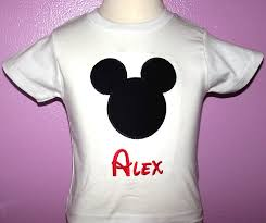 home mickey mouse shirts personalized mickey mouse ears