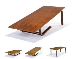 Coffee And Dining Table In One Original Neutra Designed Camel Table 12 000 Legs Richard