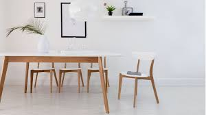 White And Oak Dining Table Appealing Modern White And Oak Extending Dining Set Chairs At Of