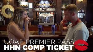 halloween horror nights express pass uoap premier pass halloween horror nights comp ticket youtube