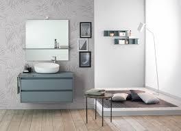 Badezimmerspiegel Mit Ablage Waschbeckenanlage In Tecnoril Mit Badspiegel Mit Ablage Mastella