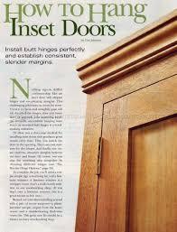 How To Hinge A Cabinet Door Installing Hinges U2022 Woodarchivist