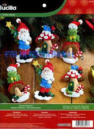 12 days of christmas bucilla felt ornament kit 86066 fth studio