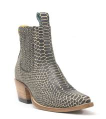 s quarter boots pskaufman black snake boots born a bad seed