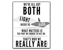 Light And Dark Quotes Sirius Black Quotes Etsy