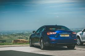 maserati ghibli blue flat out magazine giro di stile maserati ghibli s in the peaks