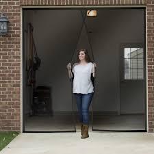 magic mesh garage door garage door screens with magnets u2022 screen doors