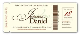 boarding pass save the date boarding pass save the dates decor adventures