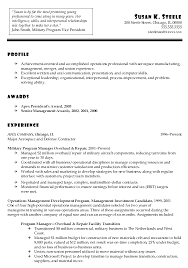Tax Manager Resume 25 Best It Program Manager Resumes Vntask Com