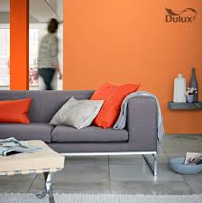 dulux orange colour oranges pinterest paint ideas house
