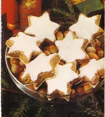 german cinnamon star cookies my favorites christmas in germany