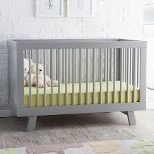 Grey Convertible Crib by Bedroom Lovely Babyletto Hudson Crib For Nursery Furniture Ideas