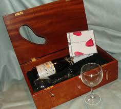 wine box wedding ceremony letter wine box