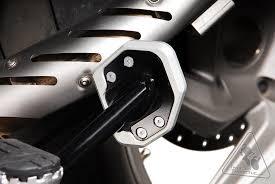 sw motech sidestand foot enlarger for bmw r1200gs u002704 u002712