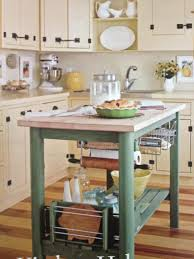 kitchen amusing light green painted diy kitchen island with white