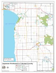 Map Of Wisconsin State Parks by Calumet County Wi Official Website Terrestrial Invasive Species
