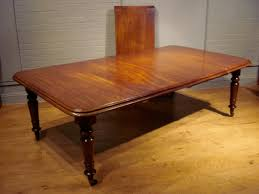 sold 19th century victorian period pull out extending dining table