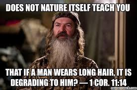 Phil Robertson Memes - apostle paul says phil robertson is against nature