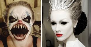 Makeup For Halloween Costumes by 25 Of The Scariest Makeup Ideas For Halloween