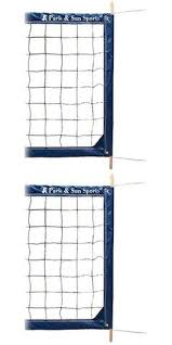 Backyard Volleyball Nets Nets 159131 Park And Sun Sports Spectrum Classic Portable