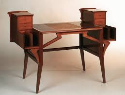 Art Van Desks by Van De Velde Henry Furniture Design 1900 1910 The Red List