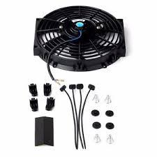 10 inch radiator fan 10 inch universal slim fan push pull electric radiator 12v