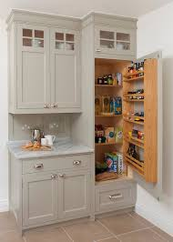 cabinets in small kitchen traditional kitchen cabinet with pantry built into it