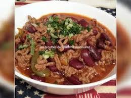 cuisine chilienne recettes recettes de chili