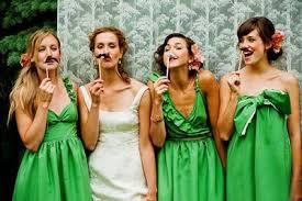 bridesmaid dresses in seven rainbow colors lifestyle blog