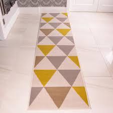 Fish Runner Rug Modern Geometric Hallway Runner Rugs 60x240cm Narrow
