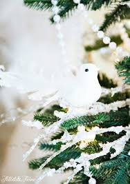 bird decor for home ribbon decorations for christmas trees ideas arafen