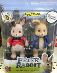 rabbit merchandise rabbit collectible figure 2 pack flopsy 2018 official