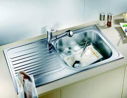 evier de cuisine blanco évier de cuisine simple tipo avec égouttoir en acier inoxydable