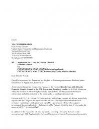 extraordinary u visa cover letter sample 79 in sample cover letter