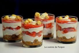 cuisine verrine verrine crème de mascarpone fraises et spéculoos la cuisine de