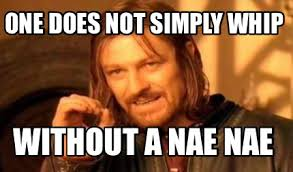 Nae Nae Meme - meme creator one does not simply whip without a nae nae meme
