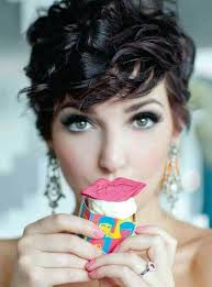 short hairstyle curly on top image result for women s hairstyle short in back and long on top