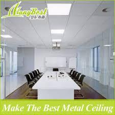 faux plafond bureau clip en aluminium résistant au feu en faux plafond pour le bureau