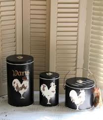 french country canister set decorative canister set kitchen