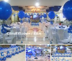 balloon decoration package for 40th birthday at cebu business