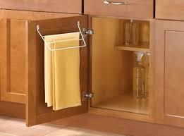 kitchen cabinet towel rack kitchen cabinet towel rack door mount towel bar kitchen under